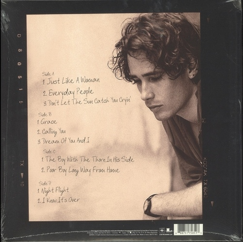 Plaisir solitaire: Jeff Buckley - You and I (2016)
