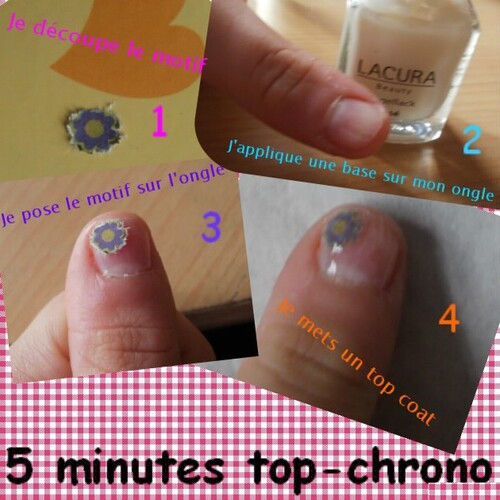 Nail-art Top Chrono