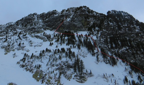 ALPI HIVERNAL: APOCALYPSE SNOW (du printemps à l'hiver... Et oui tout arrive)