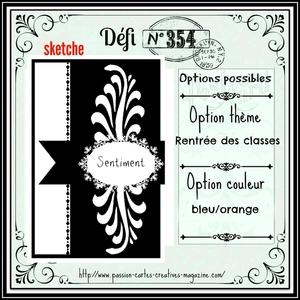 Défi #354 Passion Cartes Créatives