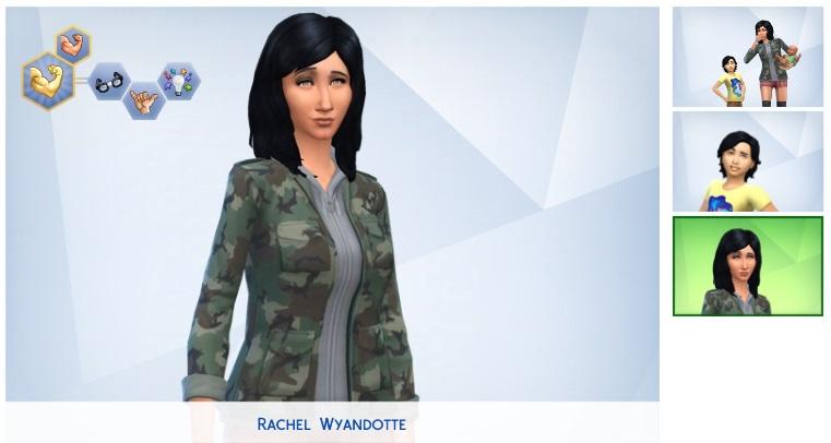 Génération 1 : Rachel Wyandotte