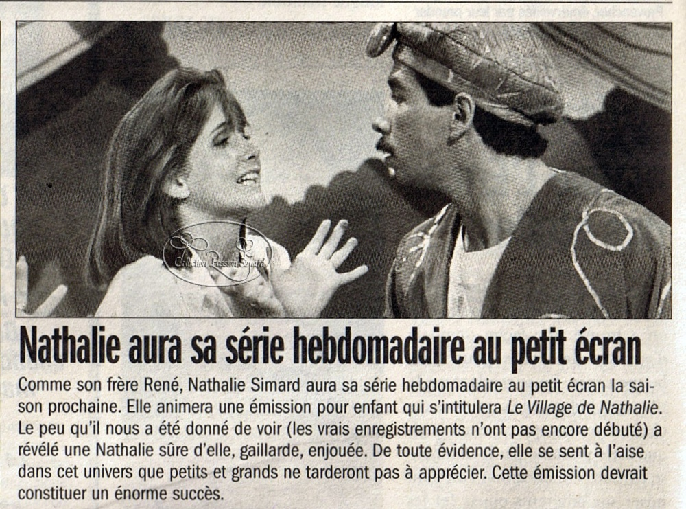 Retour dans le passé de René Simard, Nathalie Simard et Régis Simard