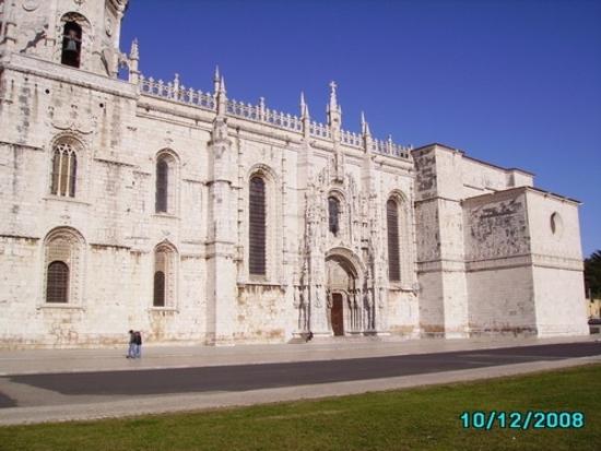lisbonne - monastère de jéronimos - façade