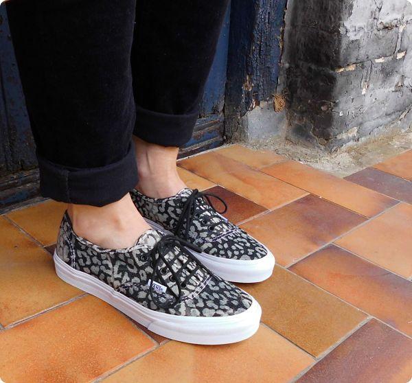 Leopard sneakers Vans