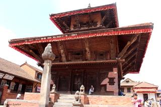 Bhaktapur, Népal (2015) en construction