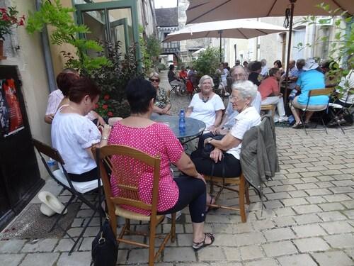 Un bel après-midi, à Noyers sur Serein, avec les Amis du Musée du Pays Châtillonnais-Trésor de Vix...