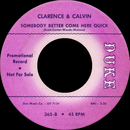 "Clarence & Calvin : CD "" First Try "" Soul Bag Records DP 123 [ FR ]"