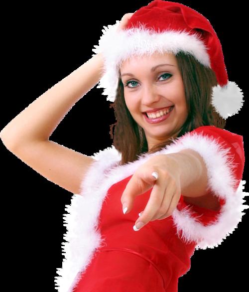 Femmes Mères Noël