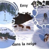 Emy et la neige