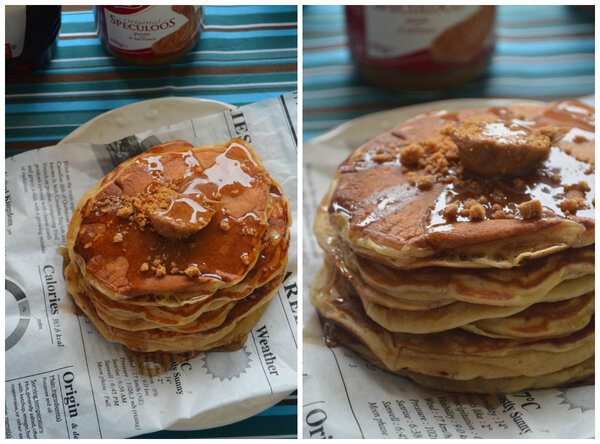 Buttermilk Pancakes {Version Speculoos}