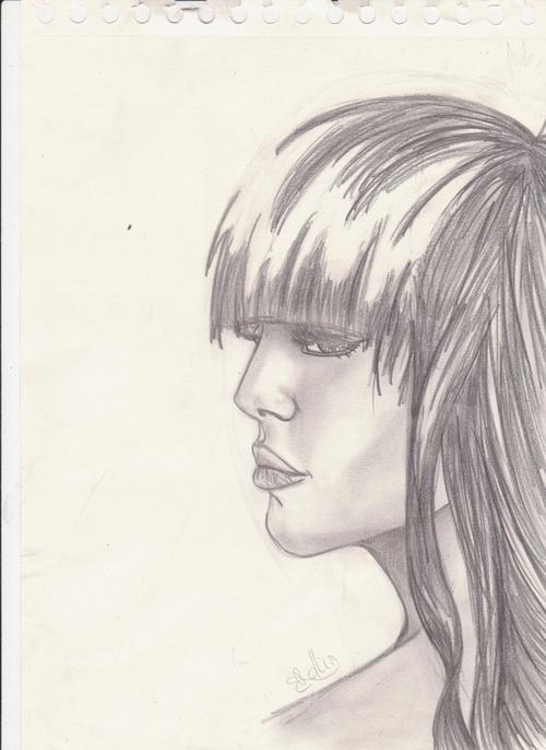 Ombrer un visage [profil]