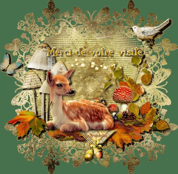 Entêtes et pieds-de-page assortis, automne