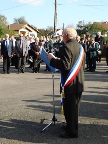 *4 Octobre 2014 - Eboulet se souvient des 58 soldats du 22e B.M.N.A. tombés pour sa Libération
