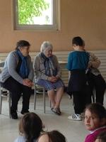 Visite à la maison de retraite