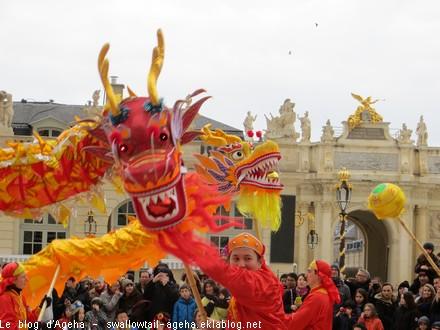Défilé du dragon