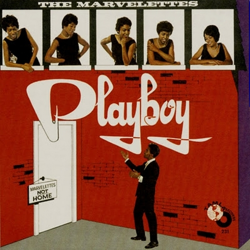 "The Marvelettes : Album "" PlayBoy "" Tamla Records TM 231 [ US ]"