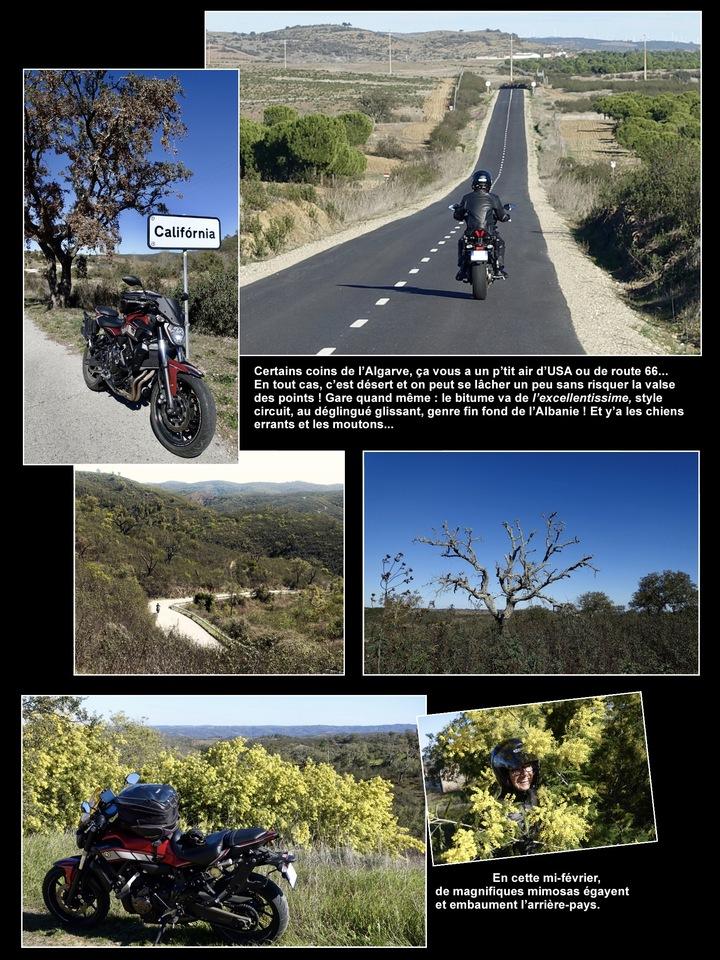 Fevrier - mars 2018 : viva la bicicleta en Algarve