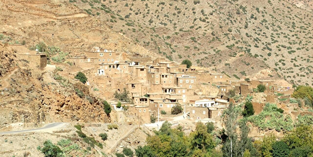 Maroc 3 / paysages dans le haut -Atlas (2)