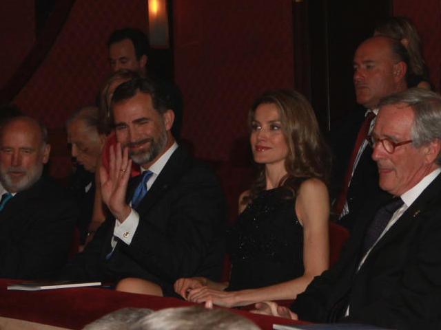 Letizia et Felipe à Barcelone