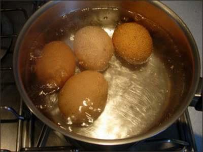 Recette de cuisine : Verrine d'oeuf mimosa