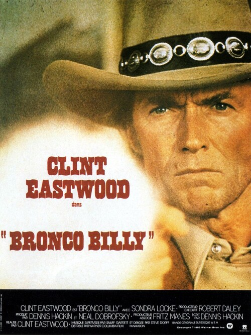 BRONCO BILLY - BOX OFFICE CLINT EASTWOOD 1980