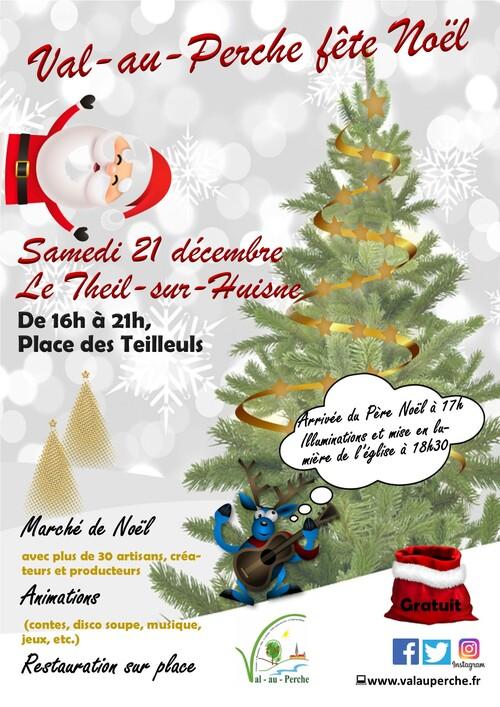 Samedi 21 décembre, Le Theil (Val-au-Perche) fête Noël