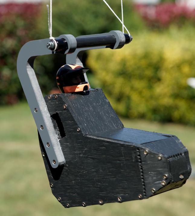 Objectif du weekend atteint ;) Scélette pente chargeable à 5 kgs et plus pour aile de 2m² et 1.5m²