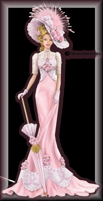 Tube Femme vintage en robe 2983