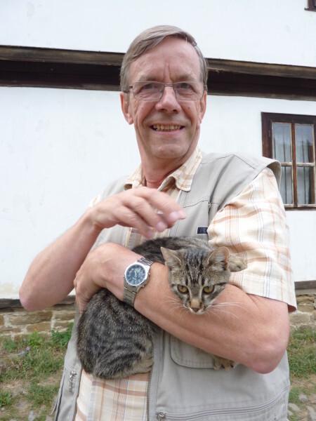 Jour 11 - Bojentsi - Philippe et le chat