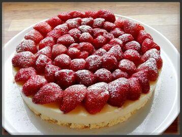 Tarte a la fraise