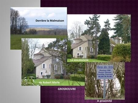 Le domaine de La Malmaison de Robert Merle (1908-2004) à Grosrouvre
