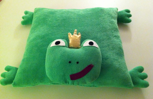 Coussin Prince Charmant ;-)
