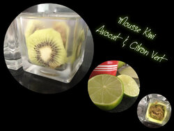 mousse kiwi avocat et citron vert