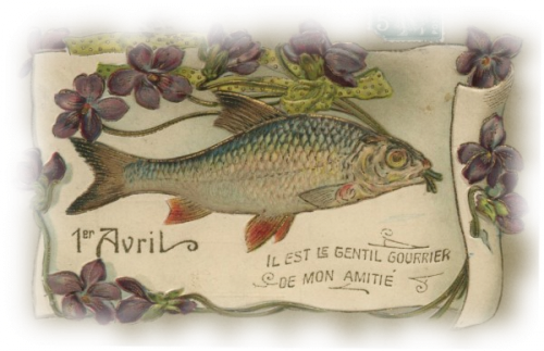 tube poisson d'avril