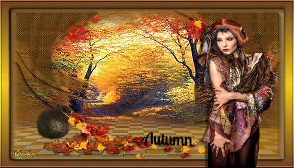 Layout Beauty Autumn