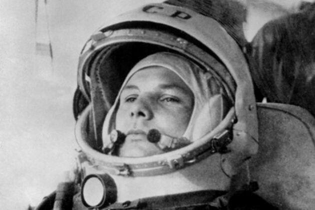 Youri Gagarine dans l'espace