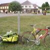 Arret devant le KM200 à Pouilly sur Loire