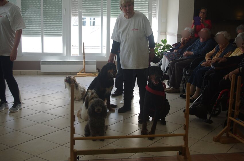 Visite à la maison de retraite de Rochefort