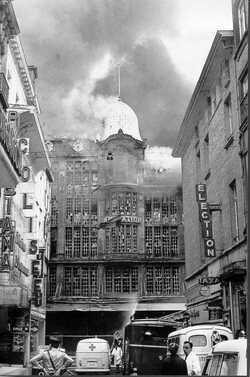 """Incendie de l'INNO : La """"dame au sac"""" a été retrouvée 50 ans plus tard"""