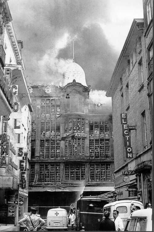 Belgique : Le 22 mars 1967, la Belgique connaissait sa plus grande catastrophe.... L'incendie de l'Innovation