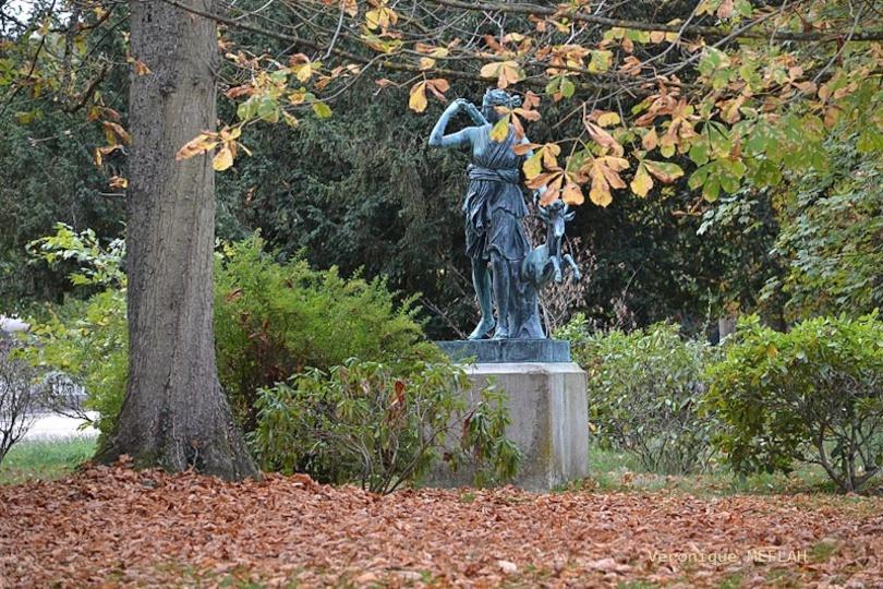 Rambouillet : Artémis en automne