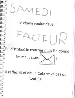 """""""Le clown qui voulait changer de métier"""""""