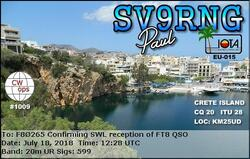 SWL FT8 By F80265