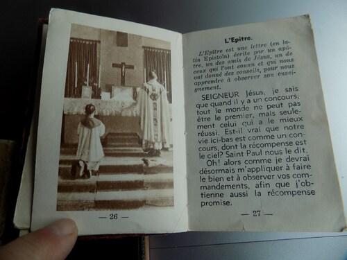 Un petit livret de litanie de la vierge de 173 ans!