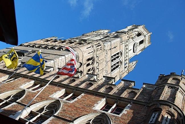 Bruges, le beffroi
