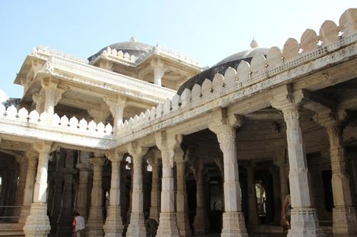 le temple Adinatha à Ranakpur