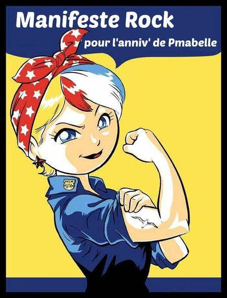 Manifeste rock pour l'annif de Pmabelle !!