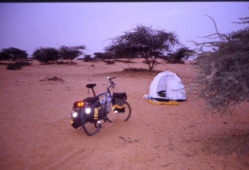 La Mauritanie = 50 ° à l'ombre mais il n'y a jamais d'ombre !