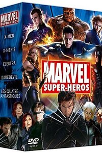 Collection regroupant une collection des meilleurs films de marvel's .....Origine du film : États-Unis Production : Universal Pictures, New Line Cinema, 20th Century Fox, Columbia Pictures, Marvel Studios... Genre : Fantastique, Science fiction, Thriller, Action Durée : Environ 45 heures Année de production : 1986 a 2012 Titre Original : Marvel