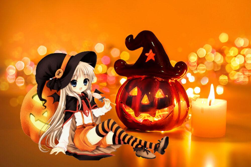 Nouveau fond d'halloween